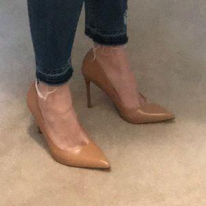Zara Nude Heels 7.5 - 8